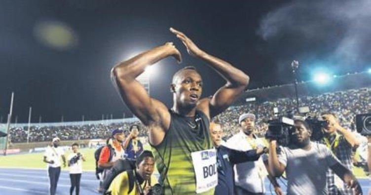 Bolt'tan Jamaika'ya veda!