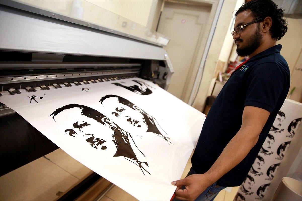 katarda-erdogan-posterlerine-yogun-ilgi-