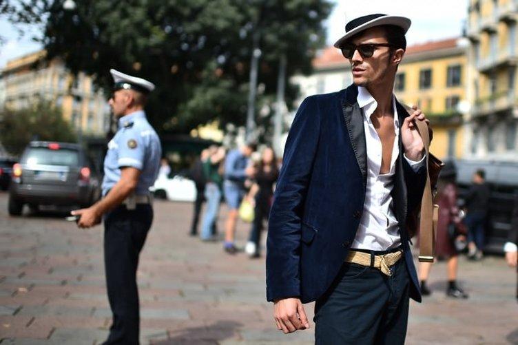 İtalya sokakları podyumu andırıyor