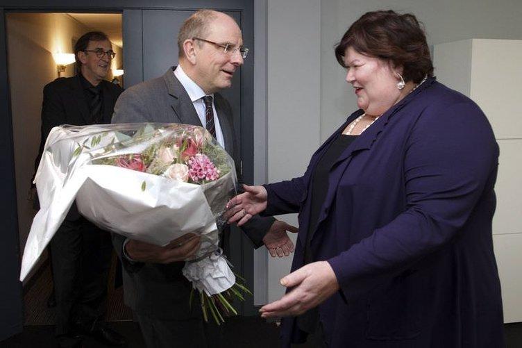 Belçika'da 127 kiloluk sağlık bakanı
