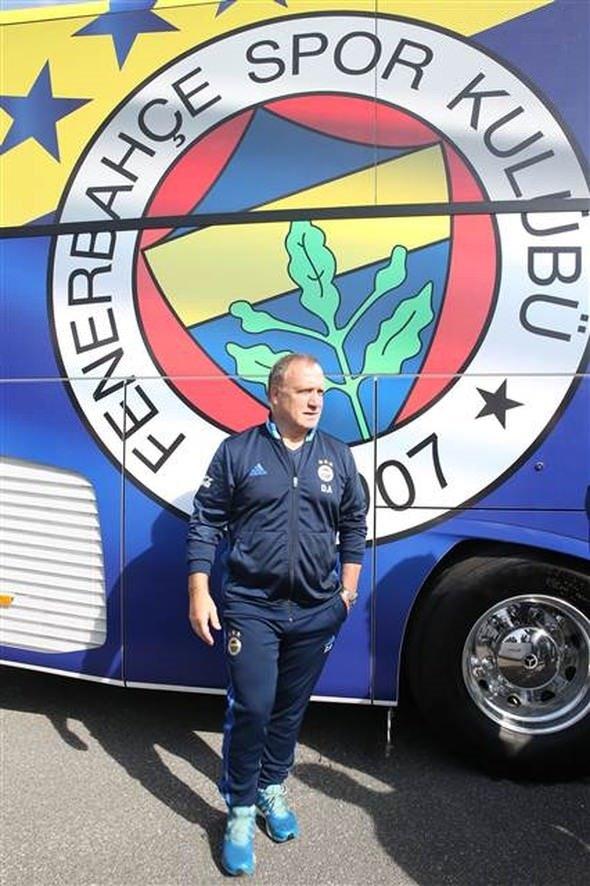 Fenerbahçe'nin otobüsünde dikkat çeken detay