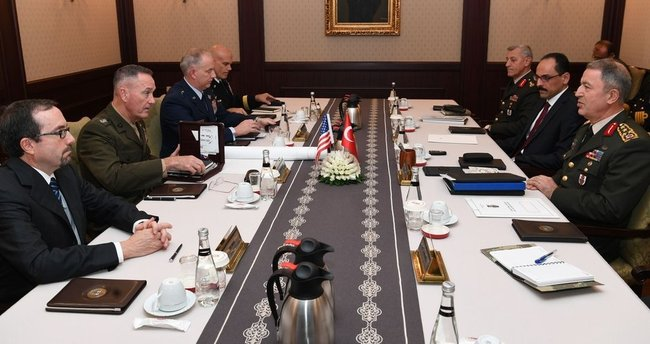 ABD'li general Ankara'da