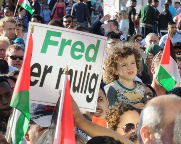 İsrail, Danimarka ve İsveç'te protesto edildi