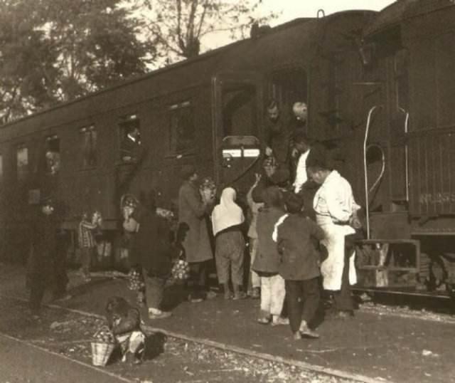 Bulgar arşivinden Türkiye fotoğrafları