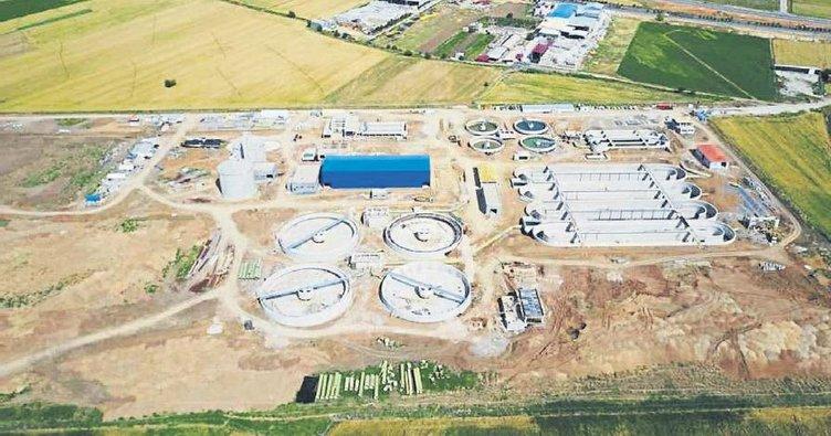 Atıksu arıtma tesisi yapımı devam ediyor