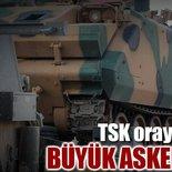 TSK oraya tank yığıyor
