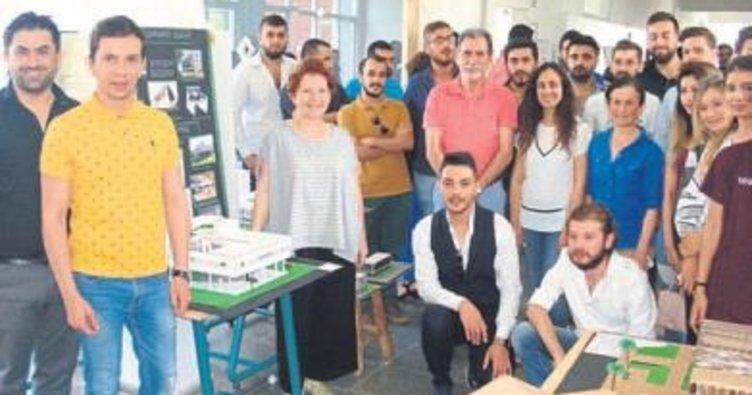 50 Mimarlık Fikri sergisi ilgi gördü