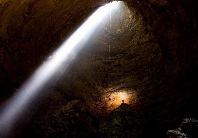 Dünyanın en derin mağarası bulundu
