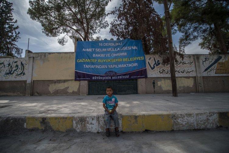 DEAŞ'ın işkence merkezi tekrar okul oluyor