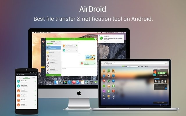 Android ve bilgisayar arasında kablosuz dosya aktarımı