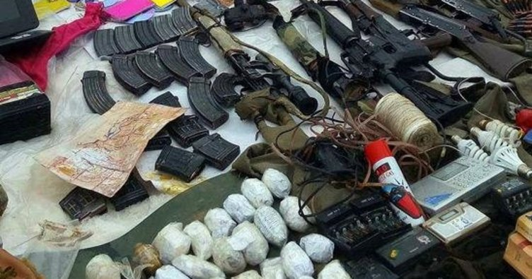 Beytüşşebap'ta PKK'ya ait mühimmat ele geçirildi