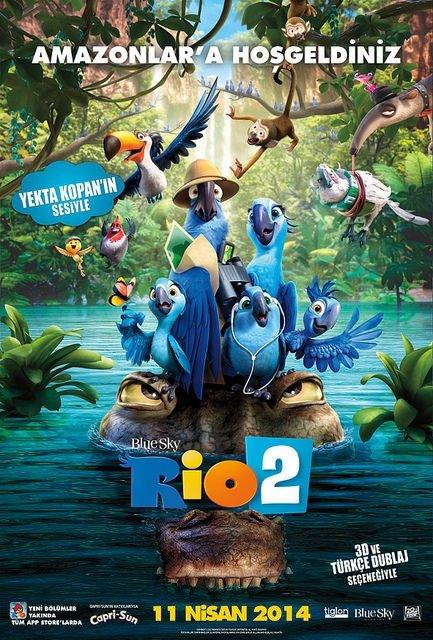 Rio 2 filminden kareler
