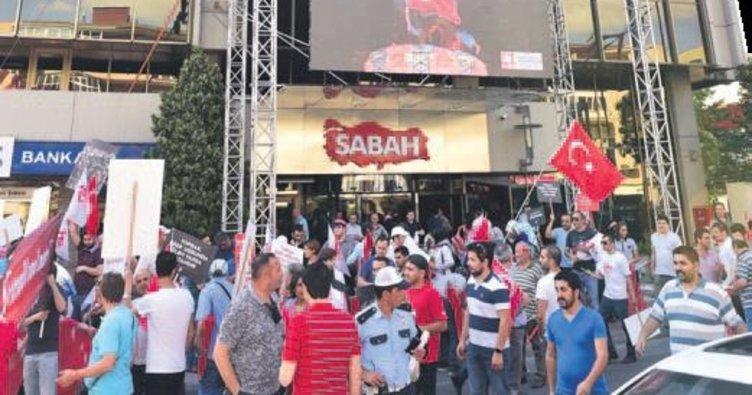 Binler SABAH'ın önünde buluştu