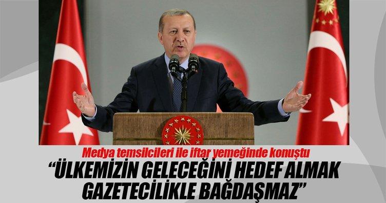 Cumhurbaşkanı Erdoğan: Ülkemizin geleceğini hedef almak gazetecilikle bağdaşmaz