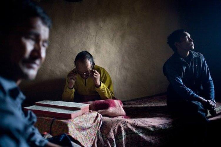 Nepal ve Tibet arasında bir garip köy