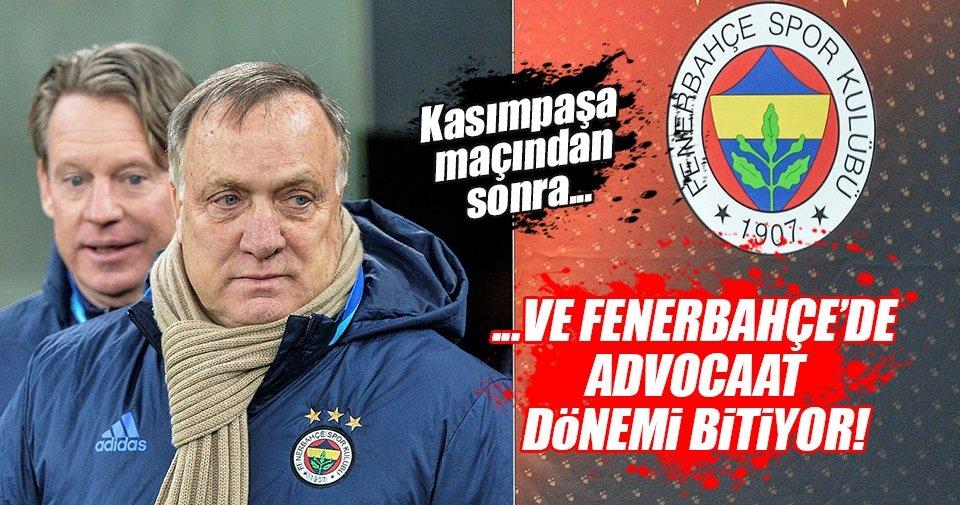Flaş iddia: Fenerbahçe kaybederse Advocaat istifa edecek!