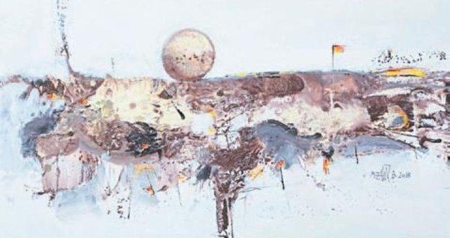 Büyükişliyen'in sergisi Ekol Sanat Galerisi'nde