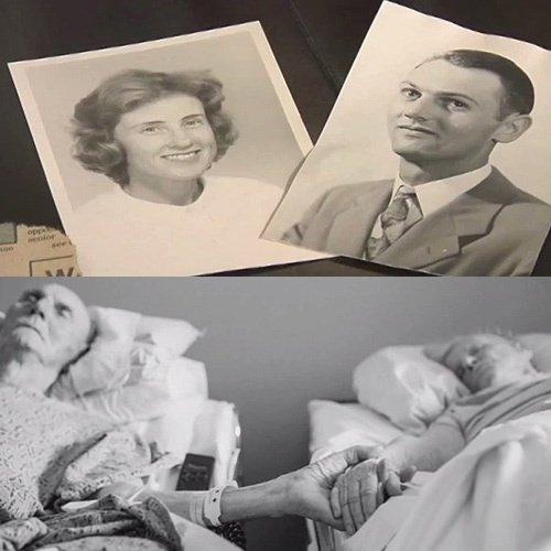 62 yıllık evlilik ve duygu dolu son
