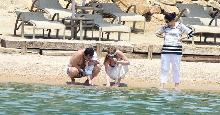 Çolakoğlu ailesinin Bodrum tatili
