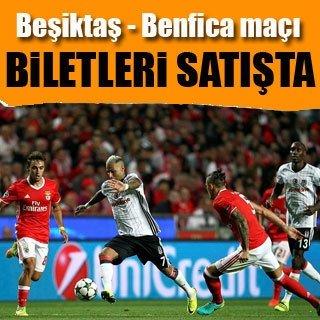 Beşiktaş-Benfica maçı biletleri satışa sunuldu
