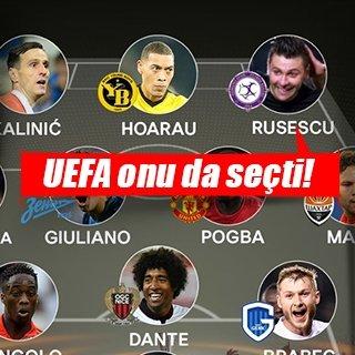 Rusescu, UEFA'nın en iyi 11'inde