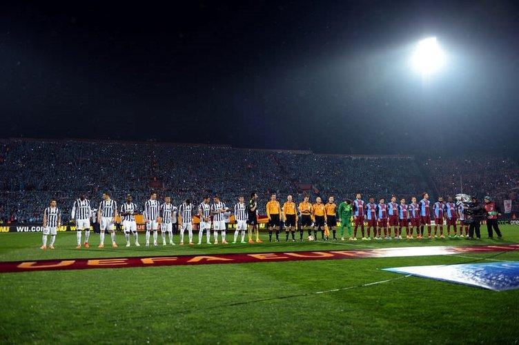 Trabzonspor - Juventus maçından fotoğraflar