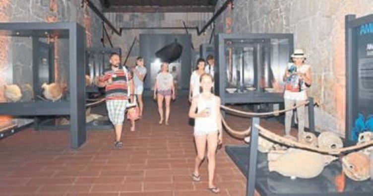 Likya Müzesi ziyaretçi bekliyor