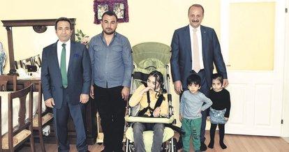 Engelli ailelerine en güzel hediye