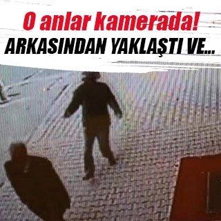 Esenyurt'taki silahlı saldırı kamerada