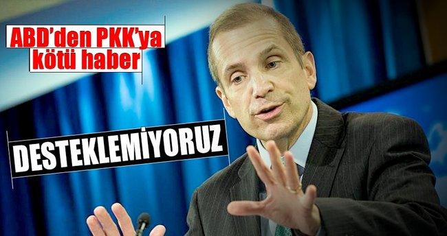 ABD, PKK terör örgütünün Musul operasyonuna katılmasına karşı!
