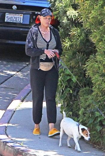 Brigitte Nielsen böyle görüntülendi