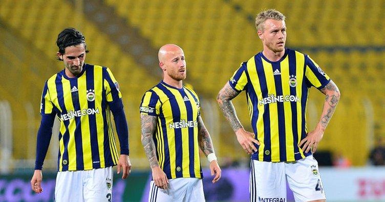 Fenerbahçe 7 maç sonra kaybetti