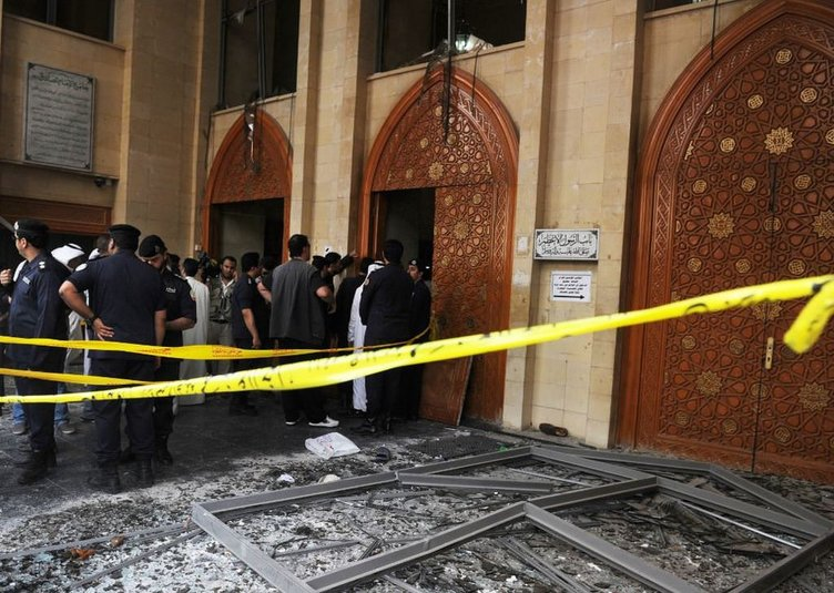 Kuveyt'te camiye saldırı