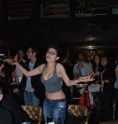 Gonca'dan kıvrak dans şov