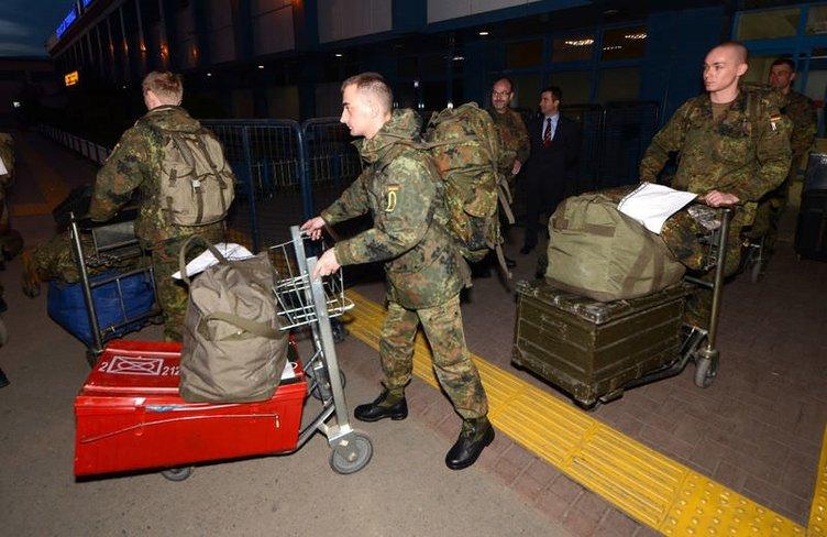 Almanya Trabzon üzerinden çekiliyor