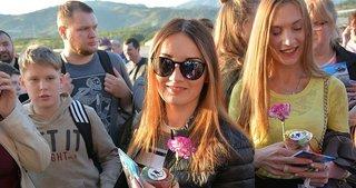 Rus turistler 'charter' ile Alanya'ya geldi!