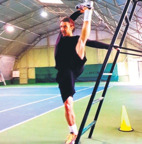 Harun Tan kendini spora adadı