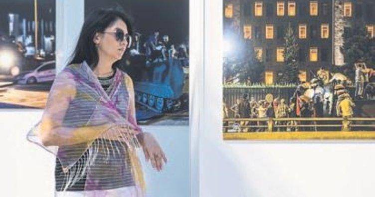 15 Temmuz sergisi Konak'ta açıldı