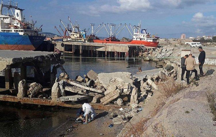 Kartal'da denizden erkek cesedi çıktı
