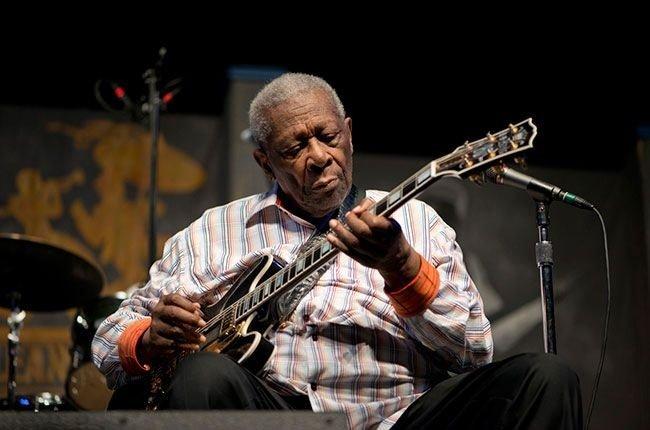 Efsane müzisyen B.B. King'in unutulmaz kareleri