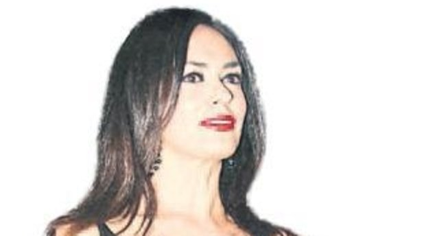 İtalyan aktris Antalya'da