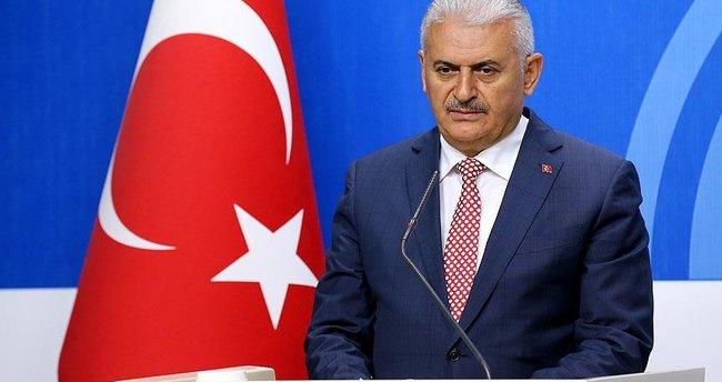 Başbakan Yıldırım, saldırı ile ilgili bilgi aldı