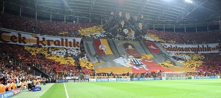 G.Saray - R.Madrid maçından kareler
