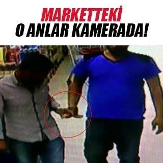 Markette uyuşturucu ticareti kamerada