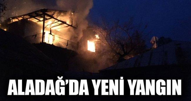 Son dakika: Adana'nın Aladağ ilçesinde yeni yangın