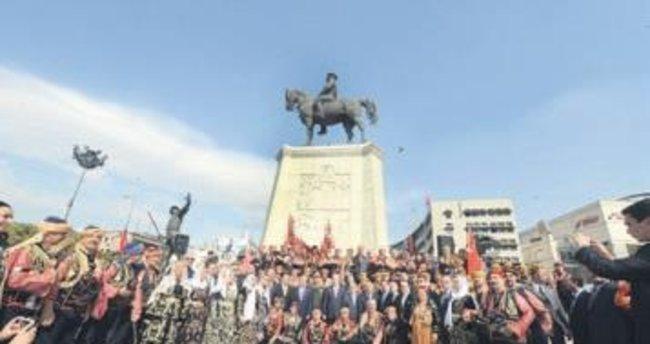 Ankara'nın başkent oluşunun 93. yılı