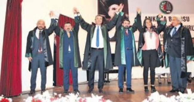 Ankara Barosu'nda 2. Canduran dönemi