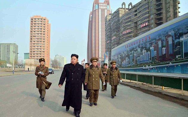 Kore lideri şimdi de...