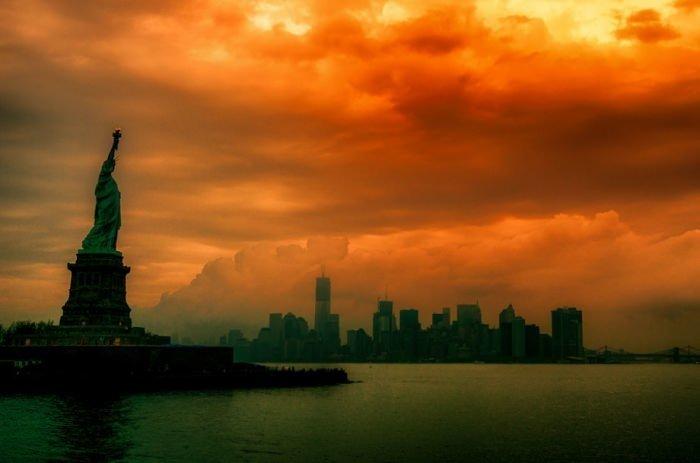 Dünyanın en ünlü gökdelen manzaraları