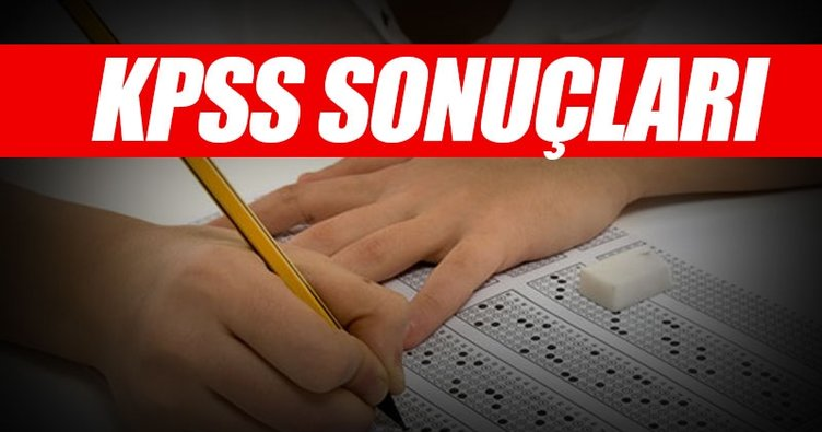 KPSS sonuçları ne zaman ve saat kaçta açıklanacak? - ÖSYM sonuç ile KPSS sınav sonuçlarını öğren
